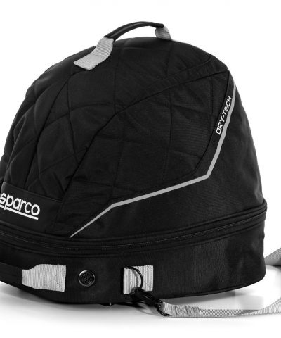 Sparco Dry-Tech Helmet & FHR Bag With Drying Fan
