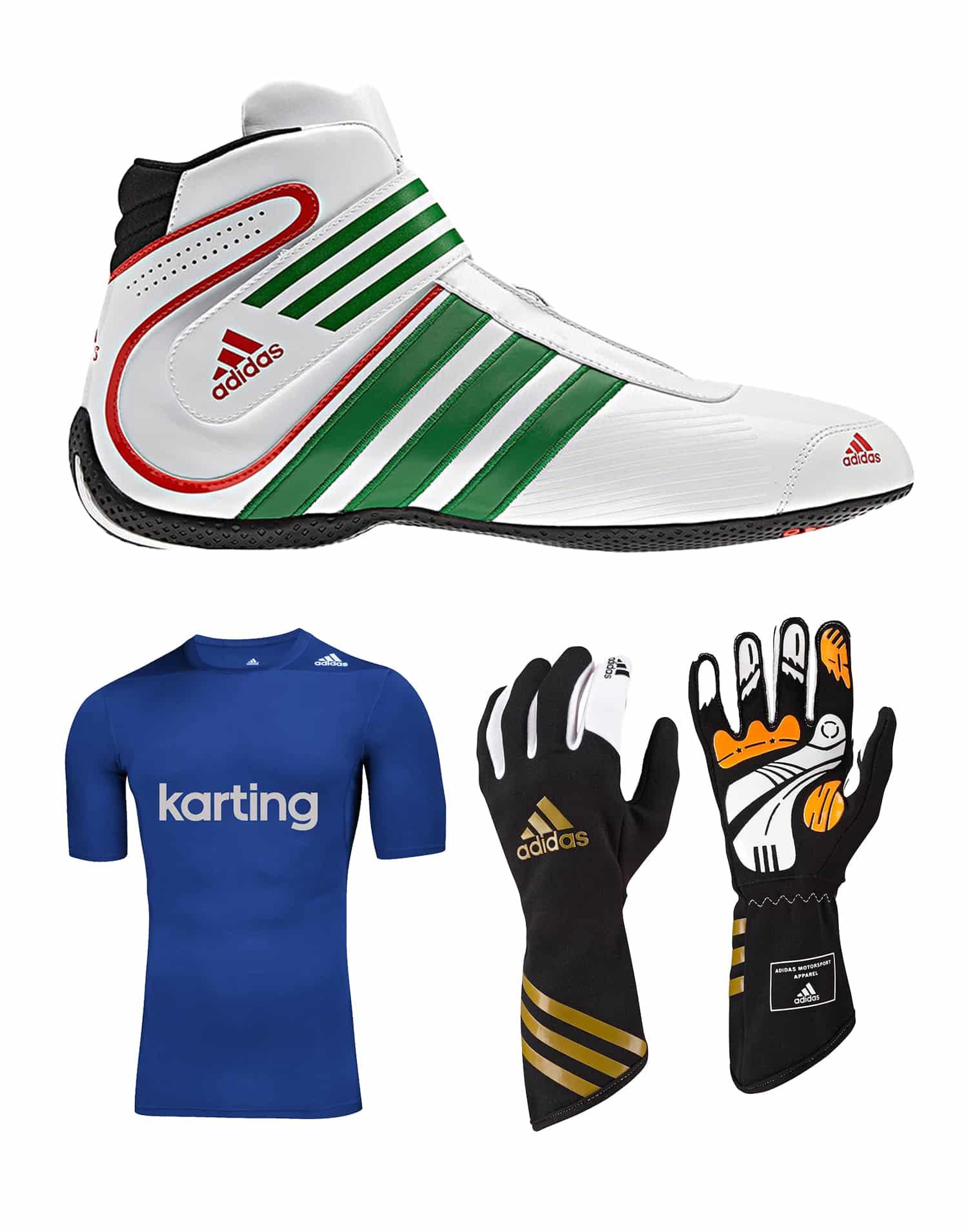 Todo el tiempo Susurro Plantación  Adidas – Adult Boots, Gloves & UnderTop Bundle Discount   MK Racewear