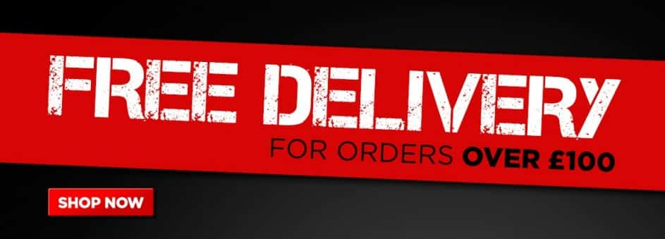 Banner for advertising Free delivery
