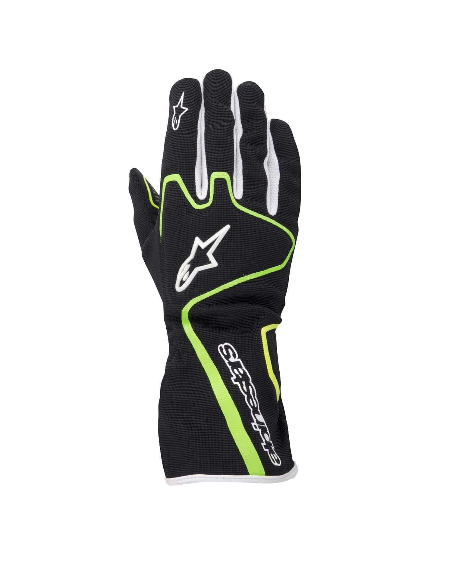 TECH-1-K-RACE-BLACK-GREEN-YELLOW-FLUO